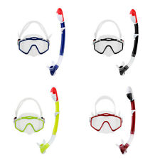 Adult Scuba Diving Mask Snorkel Set Underwater Freediving Swimming Goggles