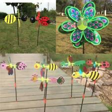 Colorful Windmills Wind Windsock Whirligig Wheel Garden Home Party Decor Kid Toy