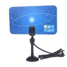 Digital Indoor TV Antenna HDTV DTV HD VHF UHF Flat Design High Gain For PC A6S7
