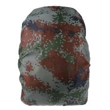 Waterproof Camo Dust Rain Cover Travel Hiking Backpack Outdoor Camping Bag
