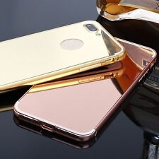 For iPhone 5 6/6s/7 plus Hard back Case Cover Shockproof Aluminum Luxury Mirror