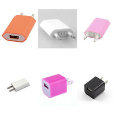 USB Wall AC Converter Power Adapter Charger For Apple iPhone & iPad