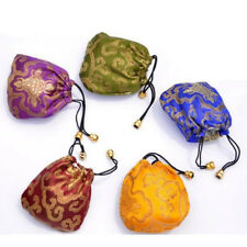 Embroidery Bags Drawstring Pouch Drawstring Jewelry 1 Pcs Silk Ethnic Style