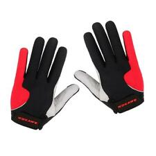 1 Pair Bike Cycling Full Finger Gloves Riding Gloves Windstopper Outdoor Gym