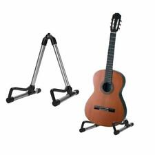 Universal Folding A Frame Stand Acoustic Guitar Portable Holder Adjustable Tool