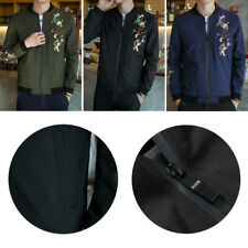 Youth collar shirt Autumn Men's Casual jacket Korean embroidered jacket 1 Pcs
