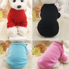 Puppy Pet Dog Cat Clothes Hoodie Winter Warm Sweater Coat Costume Apparel  hot F