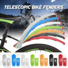 Telescopic Bicycle Bike Mountain Road Front Rear Fenders Mudguard Guard W7Q0