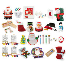 Mini Christmas Stocking Fillers Table Of Presents Mix Of Designs Prizes Party