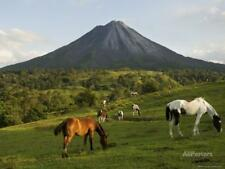 Arenal Volcano from the La Fortuna Side, Costa Rica Stretched Canvas Print