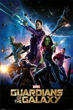 New Marvel Guardians Of The Galaxy Poster