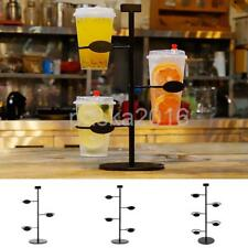Stainless Steel Cup Stand For Tea Coffee Mug Holder Kitchen Rack/Hanger