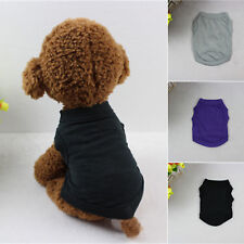 XS-XL Cotton Pet Clothes Dog T Shirt Cat  Beagle Puppy Fox Terrier Tank Top Vest