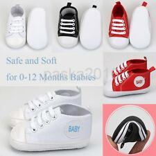 Newborn Infant Baby Girl Boy Toddler Soft Crib Baby's First Shoes Trainers