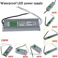Transformer Waterproof IP67 Power Supply Driver LED Strip AC 100-260V To DC 12V