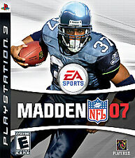 Madden NFL 07 (Sony PlayStation 3, 2006) BRAND NEW IN FACTORY SEALED PACKAGE