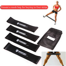 Resistance Band Stretch Tube Loop Gym Fitness Exercise Workout Yoga Training