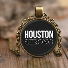 "HOUSTON STRONG * #HoustonStrong Gift 18"" Adjustable Rolo Style Chain Necklace"