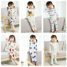 "Toddler Baby 12M-7T Vaenait Kids Long Clothes Girls Pajama Set ""G40 Style"""