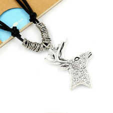 Christmas Retro Deer Necklace Jewelry Fashion Women Pendant Personality 1 Pcs
