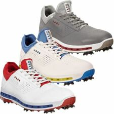 Ecco Golf 2018 Mens Leather Gore-Tex WaterProof Cool 18 GTX Golf Shoes