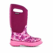 Bogs Kid's Classic Camo Kids' Insulated Boots Pink Camo 71397-696