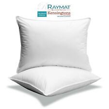 Luxury Continental Euro Square Pillows Bounce Back Microfibre Feels Like Down