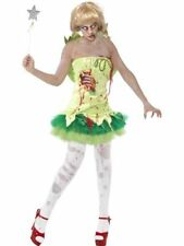 SALE Adult Zombie Fairy Ladies Halloween Horror Party Fancy Dress Costume Outfit