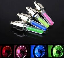 2X Motion Activated LED Glow Bike Car Motorcycle Tire Valve Caps Wheel Light