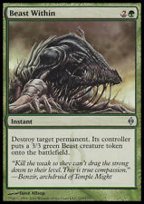 Beast Within MTG New Phyrexia English Green UNCOMMON