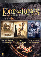 The Lord of the Rings: The Motion Picture Trilogy (DVD, 2004, 6-Disc Set, Widesc