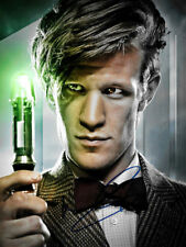 PHOTO 8x6 MATT SMITH AUTOGRAPHED SIGNED DOCTOR WHO AUTHENTIC
