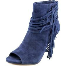 Vince Camuto Ferdinand Women  Open-Toe Suede Blue Ankle Boot