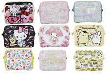Sanrio Characters HELLO KITTY x DEARISIMO Skeleton 2 WAY clutch bag ladies NEW