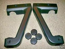 YAMAHA GRIZZLY 660 FRONT BUMPER PLASTIC COVERS & CAPS 02-08