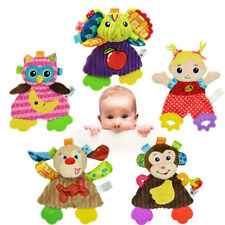 Sozzy 5 Styles Baby Plush Soft Doll Toy Infant Appease Towel Doll Kids Teether