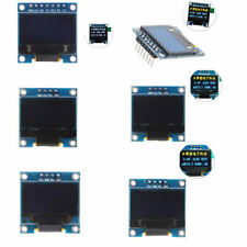 "0.96"" I2C IIC SPI Serial OLED 128X64 LCD LED Display Module White Yellow Blue"