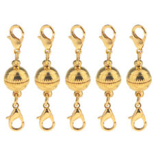 5pcs Ball Style Two Part Magnetic with Lobster Clasps for Necklace Bracelet