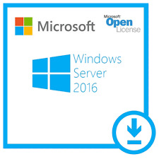Microsoft Windows Server 2016 Standard/Datacenter Edition + User/Device RDS Cals