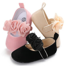 Infant Baby Boy Girl Pre-Walker Soft Sole Crib Shoes Newborn Sneakers 0-12 Month