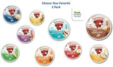 The Laughing Cow Spreadable Cheese Wedges * 2 Pack * Choose Flavors * 100% Fresh