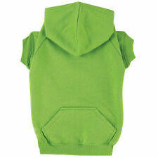 Zack & Zoey Basic Dog Hoodie Parrot Green