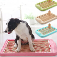 Dog Potty Training Pad Dog Litter Tray Dog Toilet Trainer House With Pillar