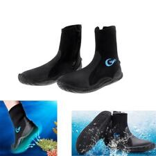 5mm Neoprene Wetsuit Shoes Boots for Scuba Diving Beach Walking Surfing Swimming