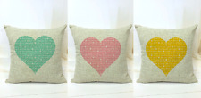 The Beatles ALL YOU NEED IS LOVE Music Lyrics Cover Cushion Stuffed Pillow Gift