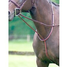 Exselle NEW Elite Fancy Stitched Square Raised Standing Horse Martingale