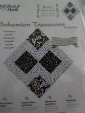 Bohemian Treasures Quilt Blocks from Jo Ann Block of the Month Beautiful Quilt