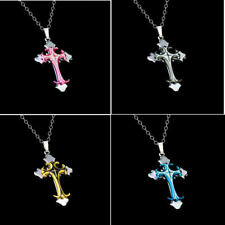 Pendant Chain Jewelry HOT Cross Women's Stainless Steel Gift Men Necklace