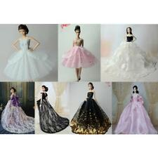 Handmade Dress for Barbie Dolls Multi-layer Wedding Furniture Doll Clothes