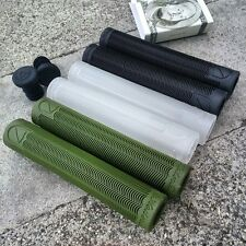 S&M BMX BIKE HODER BTM BLACK, CLEAR, or GREEN GRIPS ODI CULT KINK SCOOTER ANIMAL